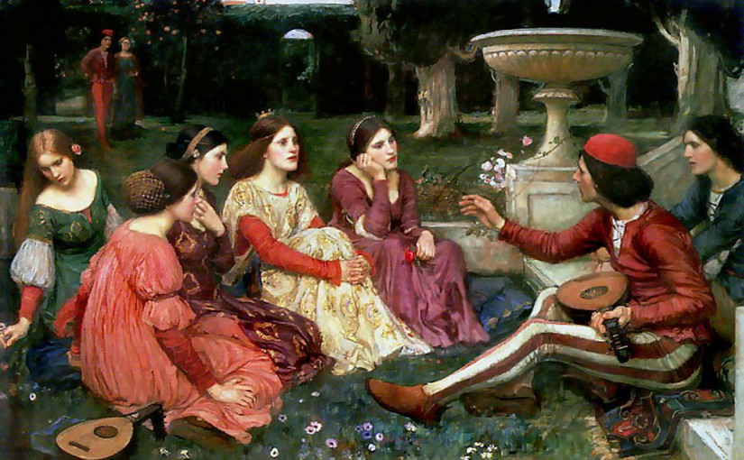 """Sektion """"Boccaccio und die Frauen"""""""