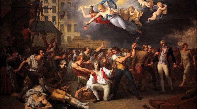 Ambivalenz der Menge zwischen Revolution und Romantik