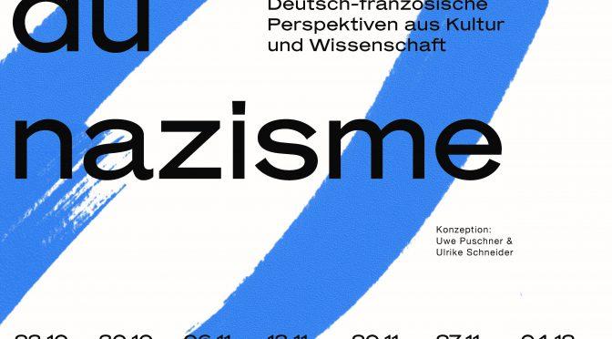 Vorlesung online: Nationalsozialismus im französischen Gegenwartsroman
